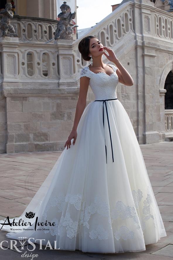 Булчинска рокля Petra от Ателие Ивоар! www.atelierivoire.bg