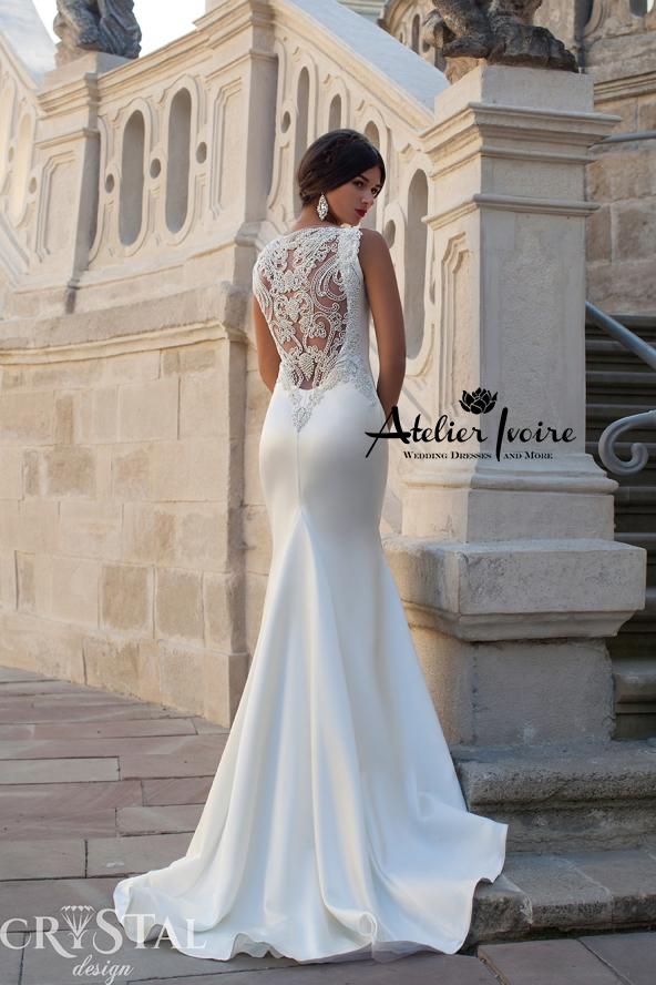 Булчинска рокля Calipso от Ателие Ивоар! www.atelierivoire.bg