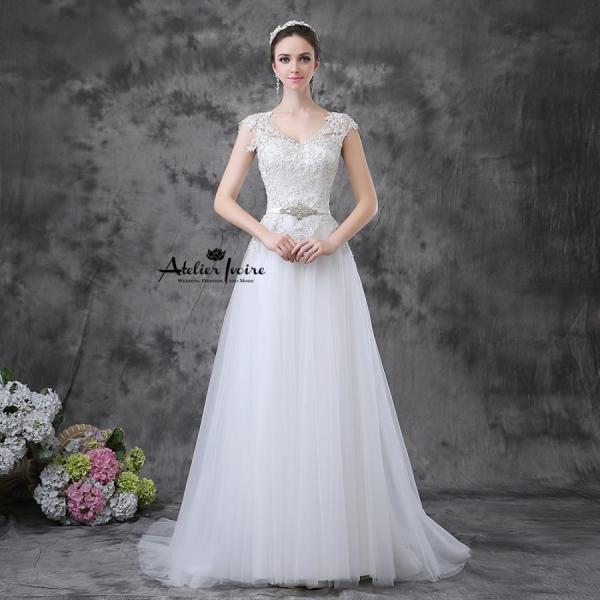 Булчинска рокля Манди от Ателие Ивоар! www.atelierivoire.bg