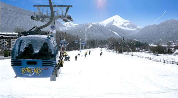 Банско е мечтания зимен курорт с любими хотели и места за отмора
