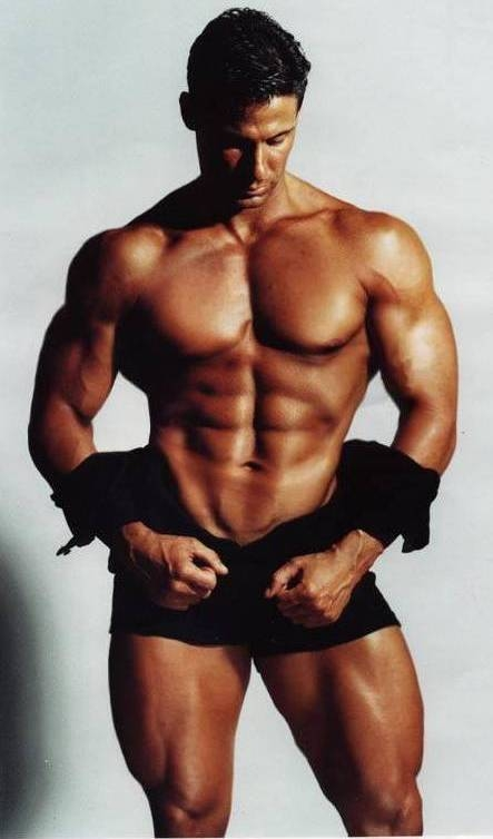 Много добър фитнес модел