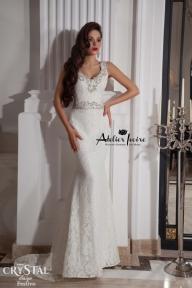 Булчинска рокля Festivo от Ателие Ивоар! www.atelierivoire.bg - Atelier Ivoire Limited Edition