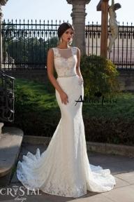 Булчинска рокля Vizantia от Ателие Ивоар! www.atelierivoire.bg - Crystal Design for Atelier Ivoire
