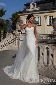 Булчинска рокля Denia от Ателие Ивоар! www.atelierivoire.bg - Crystal Design for Atelier Ivoire