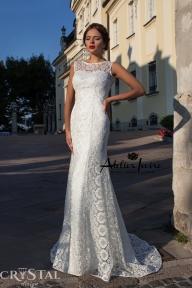 Булчинска рокля Damask от Ателие Ивоар! www.atelierivoire.bg - Crystal Design for Atelier Ivoire