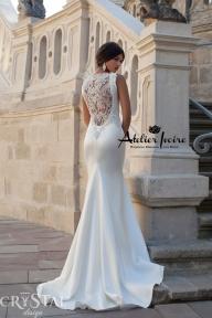 Булчинска рокля Calipso от Ателие Ивоар! www.atelierivoire.bg - Crystal Design for Atelier Ivoire