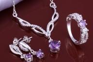 Сребърни комплекти за дамите - Мода и аксесоари