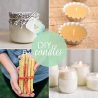 Направи си сам – Подаръчета за гостите – АРОМАТНИ СВЕЩИ - DIY