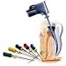 http://stomcenter.bg/medication_1  Първо се поставя местна анестезия и зъбът се отваря, изчиства се съдържимото на кореновите канали и трябва прецизно да се определи дължината им.